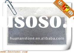 promotion price black basalt leather stone tiles