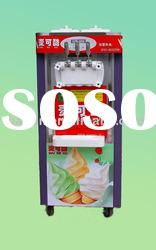soft ice cream machine with pre-cooling system and high quality