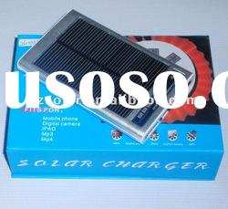 solar mobile phone charger with LED