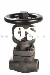 supply for low price forged steel bellow sealed globe valve(NRS)