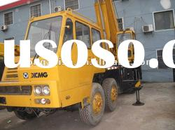 used truck crane of the XCMG 50tons of high working order
