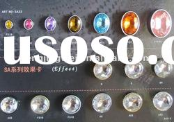 various shapes newest styles Acrylic rhinestone buttons (ARB005)