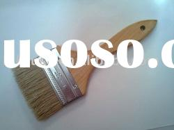white bristle and wood handle paint brush HJFPB63311