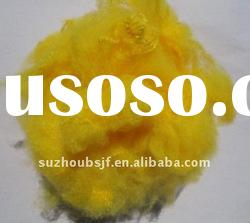 yellow Polyester Fiber size in 6D*64MM