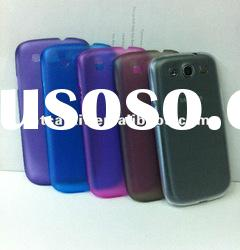 0.4mm ultra-thin TPU phone case for Samsung galaxy i9300