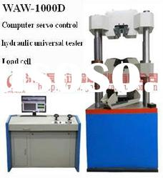 1000 KN Load cell Computer control servo hydraulic universal testing machine
