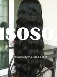 100%Indian remy human hair full lace wig