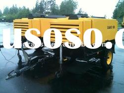 104KW XAHS186 Atlas Copco Portable Screw Air Compressor,12barg mobile compressor,Atlas copco brand