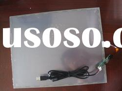 "10.4"" 4 wire resistive for laptop touch screen panel.(usb/rs232 for selection)"