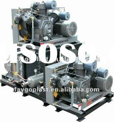 10bar piston industrial air compressor/3 stage