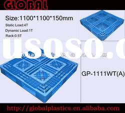1100*1100*150mm Static Load:4T Plastic Pallets Medium Duty Pallets