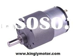 12V dc gear motor,dc motor ,37mm,high torque,CE,ROHS