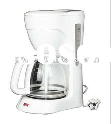 12 cups automated and instant home anti-drip coffee machine/tea maker