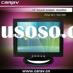 """15"""" Resistive Lcd Touch Screen Monitor with TV/AV function"""
