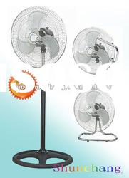 18 inch 3 in 1 Industrial Stand Fan,turbo ventilator 18""