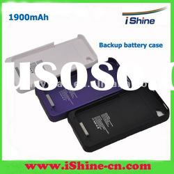 1900Amh External power station for iphone4/4s, case with battery
