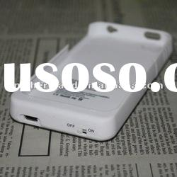 1900mAh External Backup Battery cover for iPhone 4,New arrival