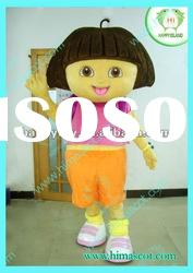 196USD dora cartoon character costume