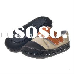 2011 new boy style leather baby shoes BB-A27111-CM
