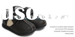 2011 new design Soft Leather boy style toddler shoes LBL-UI107BR
