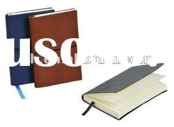 2011 style pu cover notebook with elastic closure
