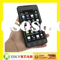 2012 Dapeng A75 5 inch 3G Android 4 ICS MTK6575 Dual SIM WiFi GPS mobilephone phone