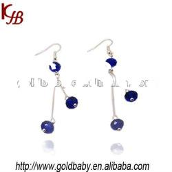 2012 Fashion Crystal Earrings with Crystal Basketball Wives Jewelry
