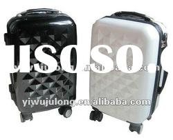 2012 Luggage set,Trolley case,PC051,PC+ABS, hard suitcase,black color