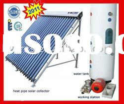 2012 hot pre-heating copper coil exchanger solar water heater