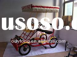 2012 new design dual person go-kart,4 wheel adult bike,four person surrey bike F5160