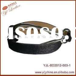 2012 new fashion horse hair belt for lady