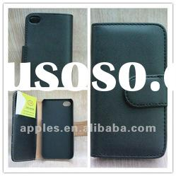 2012 new leather case for iphone 4 4s