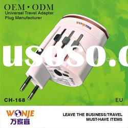 2012 worldwide electrical double usb travel adapter connector socket