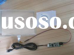 22 inch 5 wire resistive for LCD monitor touch panel.(usb and rs232 controller for selection)