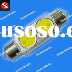 2W high power led car lamps festoon base