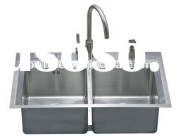 304 stainless steel kitchen sink /hand-made sink/tensile basin