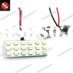 3528 18SMD PA3 12V PCB led auto bulb interior and car dome lights
