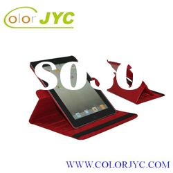 360 degree Rotary leather case for the new ipad