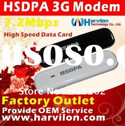 3G usb modem Data Card 7.2Mbps HSUPA Model - Unlocked
