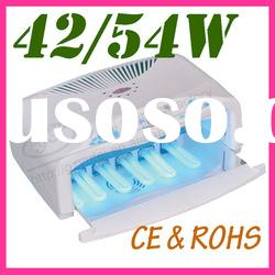 42W Gel uv curing lamp two handed nail uv lamp