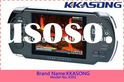 4.3 inch mp4 mp5 game player with camera