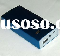 5000mAh Aluminum alloy shell portable power bank for mobile