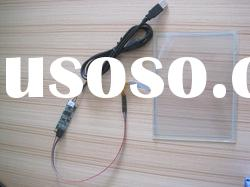 5 wire resistive type for medical equipment with extension cable touch screen.