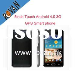 5inch Capacitive touch Android 4.0 3G GPS WIFI smart Phone