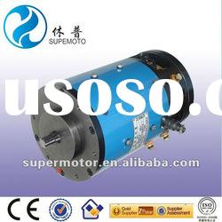 5kw 48v electric car/carrier/sweeper dc motor
