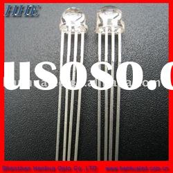 5mm straw hat RGB led diodes