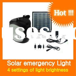 6V solar camping lantern 1W for professional emergency lighting