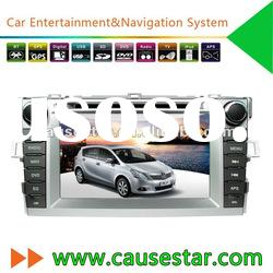 7 Inch Touch Screen Car DVD Player with GPS for Toyota Verso
