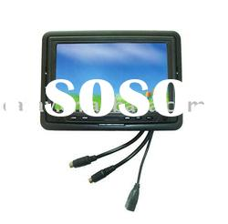 """7"""" Resistive LCD Touch Screen Monitor with VGA/USB/S-video"""