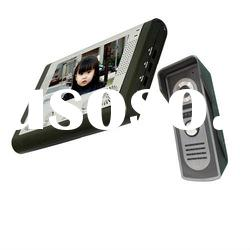 "7""color wired video door phone system"